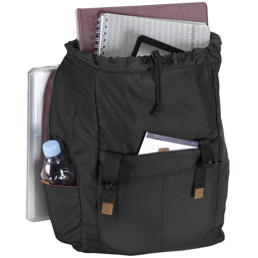 "TARGUS 16"" Bex Backpack Exterior (TSB781AP) - Black (Item No: TGS"