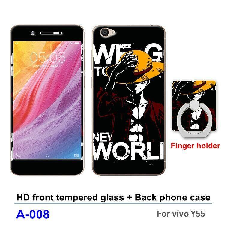 Rp 72.000. Vivo Y55/Y55L/Y55A Pelindung Layar Fashion 360 Gelar Penuh Casing TPU Lunak Plastik Bungkus Telefon Casing ...