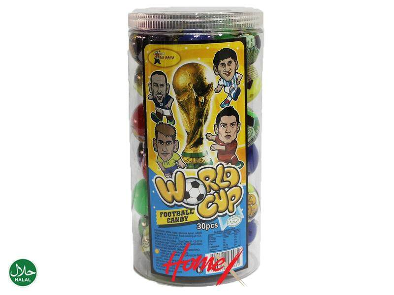 Ali Baba World Cup Football Candy (30pcs)