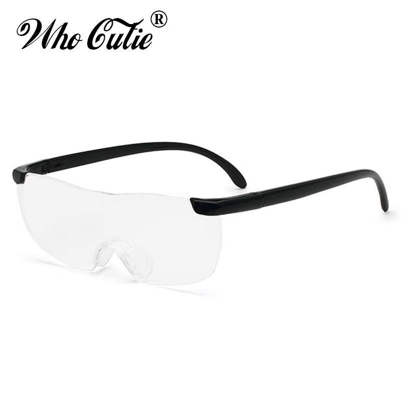 Big Vision 250% Reading Glasses Men Women Frameless Magnifying 1.6 times +250 Degrees Magnifies Glasses Presbyopic - intl