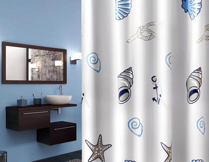 Thickened Shower Curtain Toilet Waterproof And Moisture Proof Partition