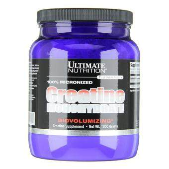 Ultimate Nutrition 100% Micronized Creatine Monohydrate, Unflavored, 1000g (Halal)