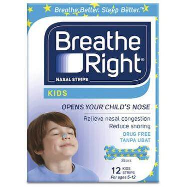 BREATHE RIGHT KIDS 12'S (FOR AGES 5-12)