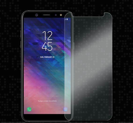 Features Samsung Galaxy A6 Plus 2018 Tempered Glass Screen Protector
