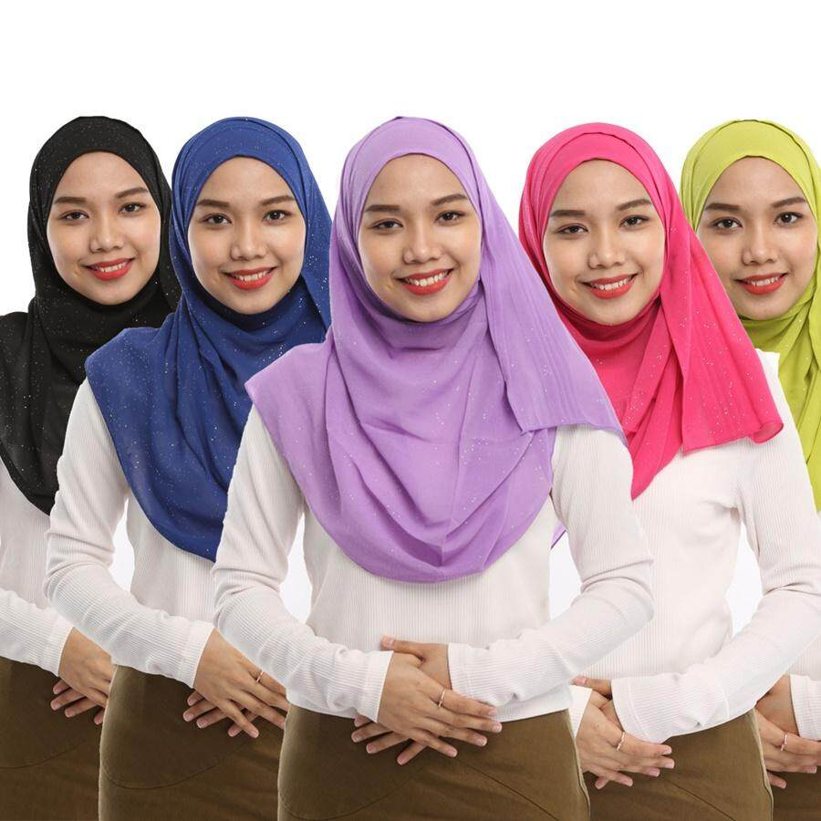 Shapee Chiffon Shawl (Bundle in 3 Colors)