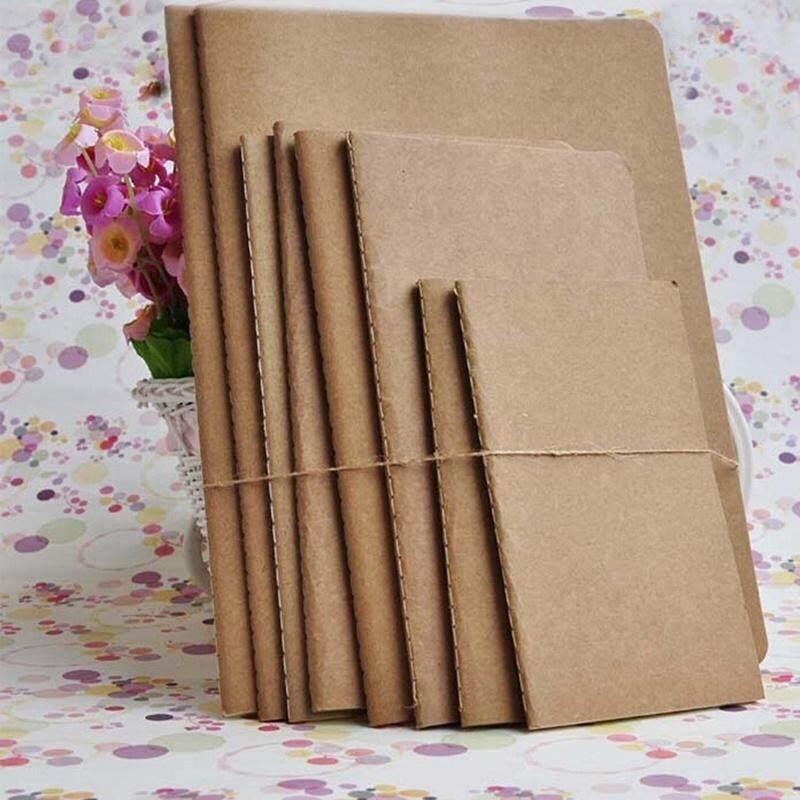 Mua Kraft paper Plain Sketchbook Diary blank notepad book vintage journal notebook 210*110 - intl