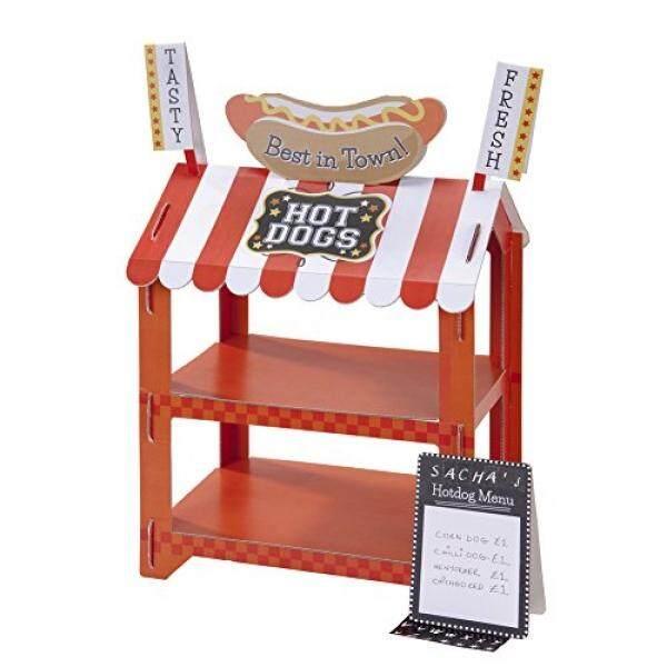 Berbicara Meja Jalan Warung Hotdog & Suguhan Popcorn Berdiri untuk Pesta Ulang Tahun atau Umum Dekorasi Pesta, Banyak Warna/dari Amerika Serikat