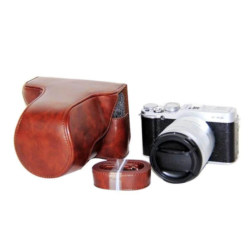 Pu Sarung Kamera Kulit Cover untuk Fujifilm X-A3 XA3 16-50/18-55 Mm Lensa