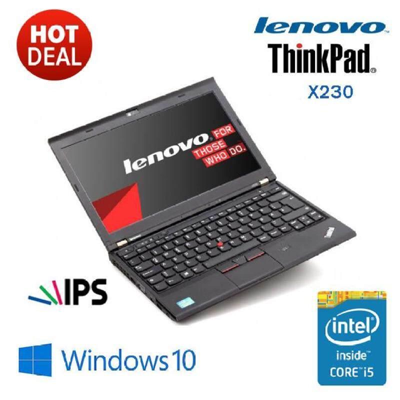 LENOVO THINKPAD X230 CORE I5 V-PRO / 4GB / 1000GB HDD [ IPS DISPLAY ] Malaysia
