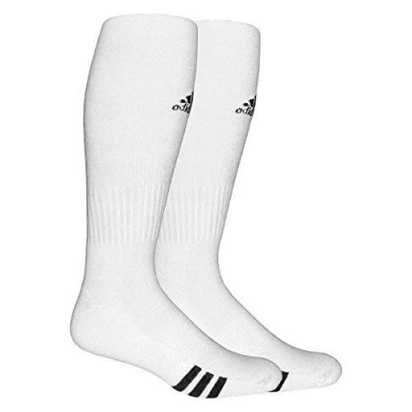 adidas Unisex Rivalry Soccer 2-Pack Otc sock, White/black, - intl