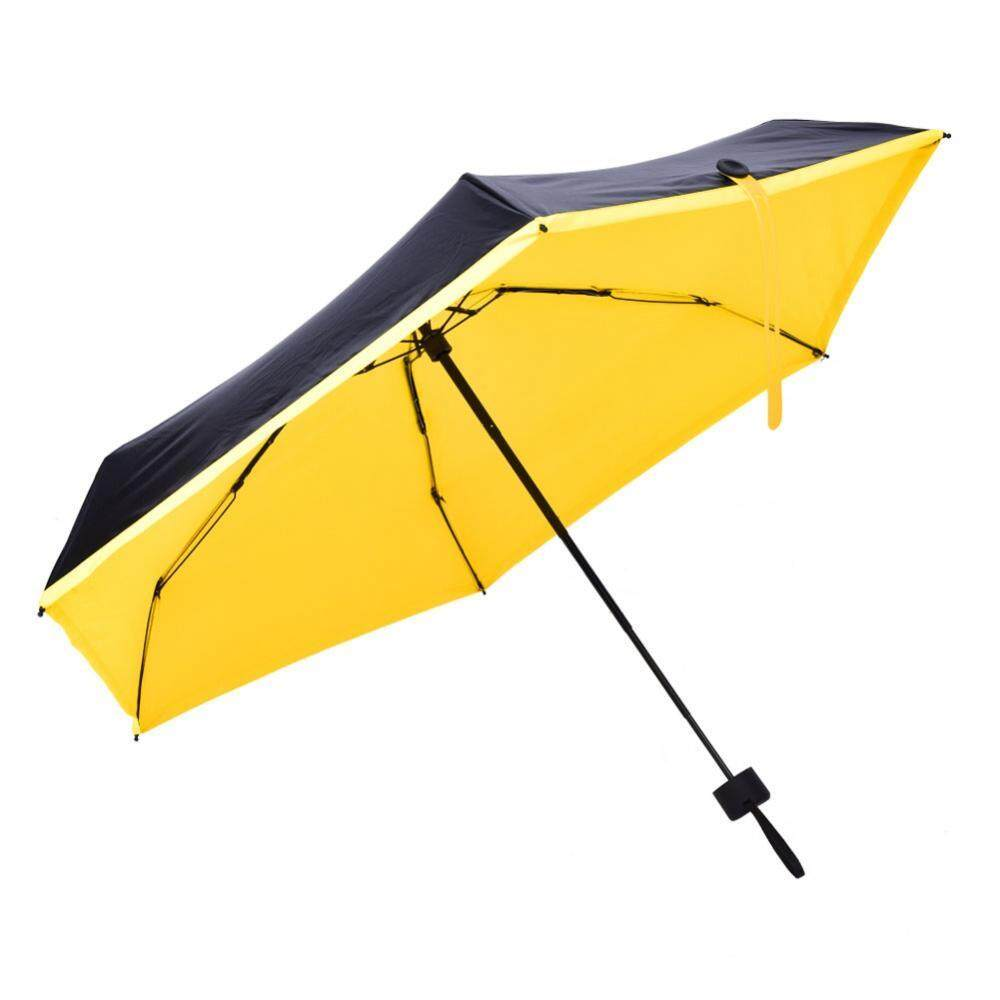 epayst【clearance sale+ready stock】Mini Portable 5-Folding Sun Protection Anti