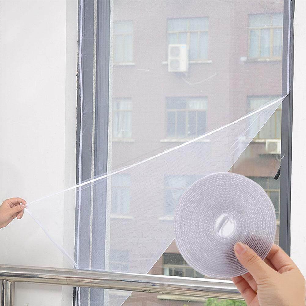 Detail Gambar Qimiao DIY Siluman Jendela Sekat Pencegah Lalat Serangga Nyamuk Sekat Jala Jala Jendela-