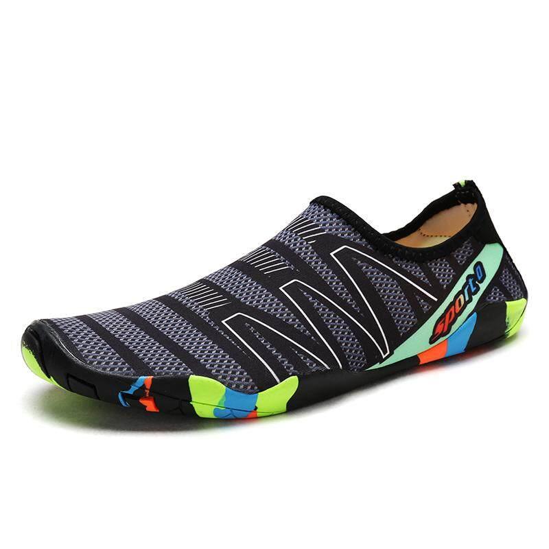 Air Sepatu untuk Wanita Sepatu Pantai Snorkeling Sepatu Pecinta Wade Sepatu Berselancar Sepatu Renang Sepatu Pria Yoga Sepatu Olahraga untuk Pria AG424-Intl