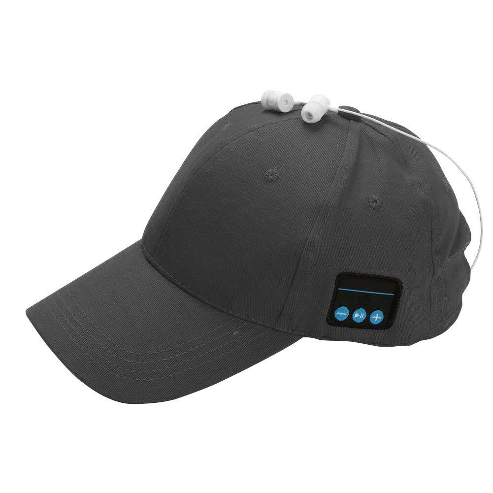 Adjustable Outdoor Headset Uniseks Fashion Topi Bisbol Topi Pantai Bluetooth 4e2d93fb9e