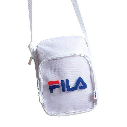 FILA CLEAR POCKET SHOULDER BAG FM2100 SHOULDER BAG CLEAR POCKET WHITE