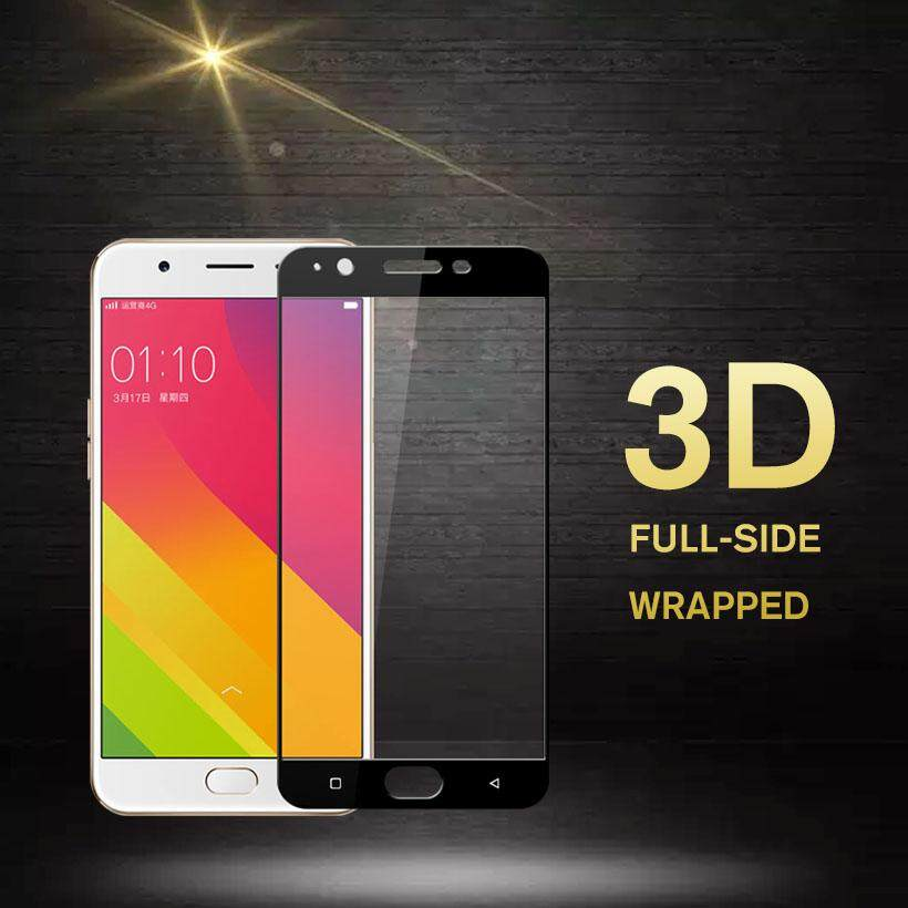 AKABEILA 2PCS 3D Full-side Wrapped Tempered Glass for OPPO A59 F1S A59M Find 9