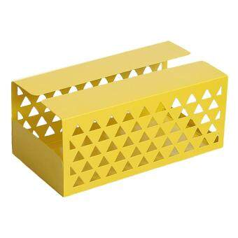 Cheapest Price BolehDeals Tissue Box Holder, Retangular Napkin Holder Paper Case Dispenser Yellow L ขายช็อก