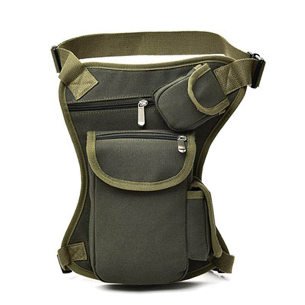 DSStyles Outdoor Sports Cycling Canvas Waist Leg Pack Bag Portable Tactical Multifunctional Pocket Pack
