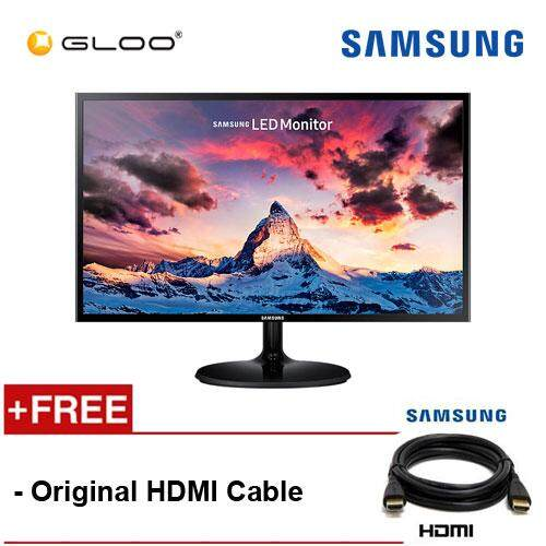 Samsung 23.5'' LED Monitor LS24F350FHEX [Original HDMI Cable Included]