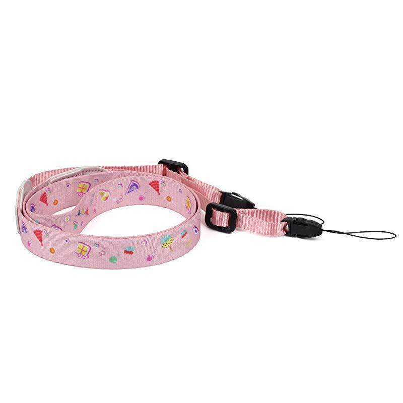 Estway Camera Shoulder Neck Strap Belt for Instax Mini 25/Mini 8/Mini 9/SQ 10/SQ 6 Instant Camera, Polaroid Socialmatic/Z2300 Instant/PIC300 Instant Camera, Nikon/Canon Camera(Pink Candy) , Pink Cand