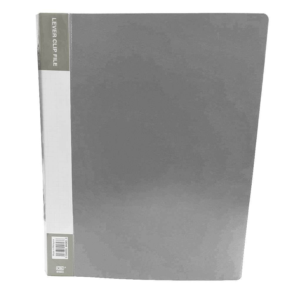 CBE BN603 Lever Clip File A4 Grey (Item No : B10-68GY)