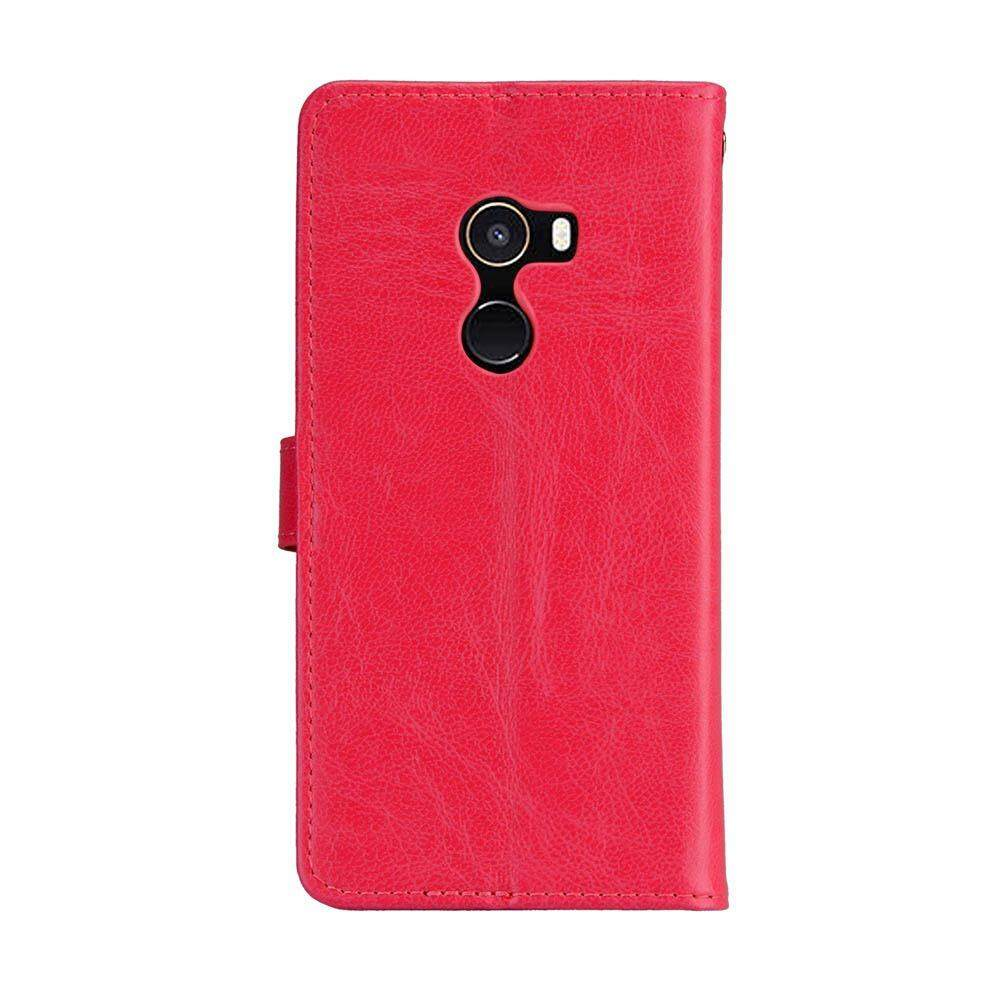 Case for Xiaomi Mi Mix 2 PU Leather Wallet Flip Stand Cover with ID Card Pockets ...