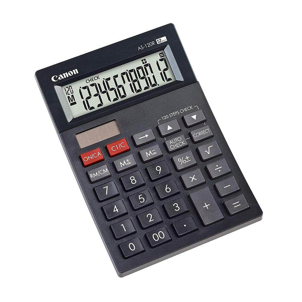 Canon AS-120R Arc Design Desktop 12 Digits Calculator