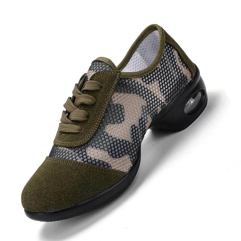 Wanita Sepatu Tari Jazz Hip Hop Sepatu Sepatu Sneaker untuk Wanita Modern Platform Menari Sepatu Wanita