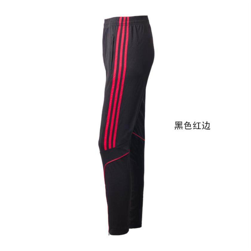 (minimum Price) New Straight Pants Men's Football Training Fitness Running Pants Quick Dry Breathable