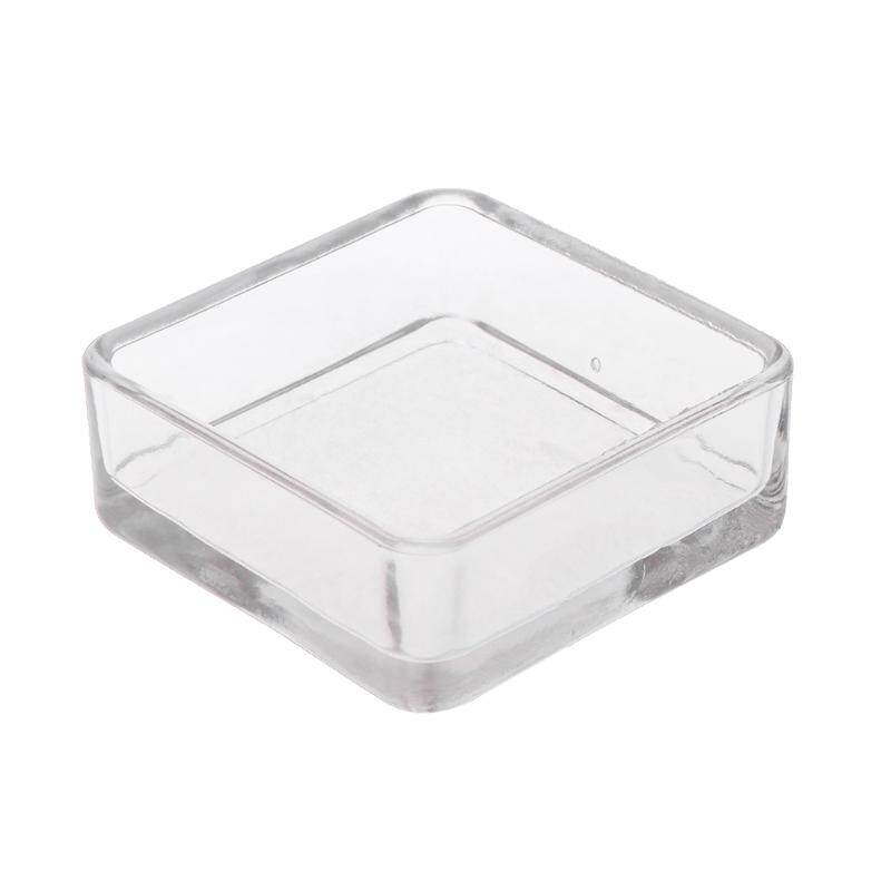 Acrylic Aquarium Fish Tank Shrimp Feeding Food Dish Tray Bowl Container Feeder