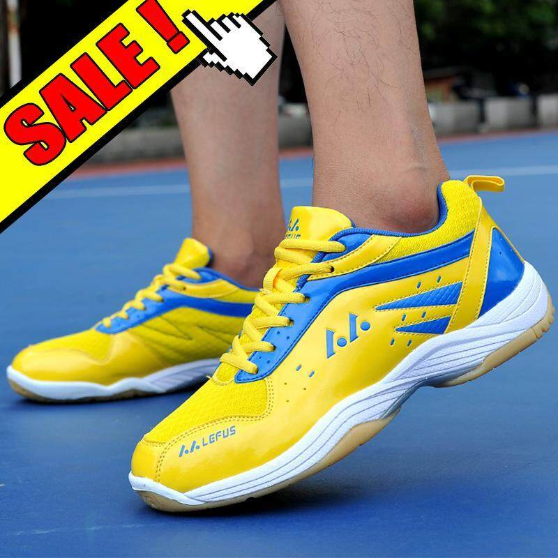 YEALON Sepatu Badminton Shoes For Men Training Breathable Hard-Wearing Anti-Slippery Light Women Badminton Shoes Sneakers Pria Running Sport Mens Shoe Sepatu Badminton Pria Cushion