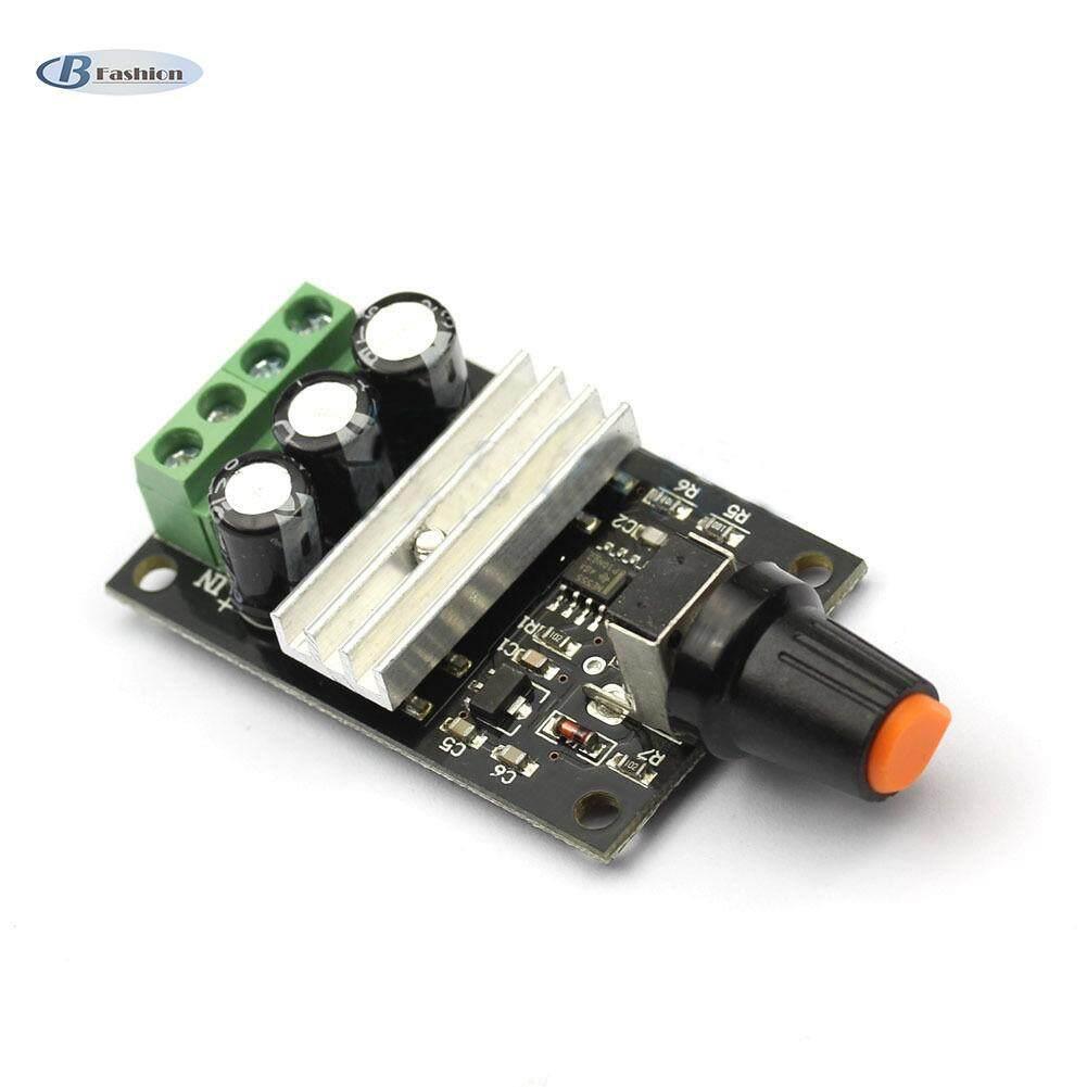 B-F Kecepatan Motor DC Switch Alat Pengatur PWM Variabel Adjustable 6 V 12 V 24 V