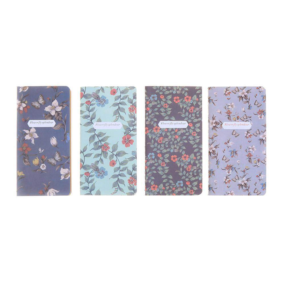 Mua 4pcs Retro Flower Notebooks Notepad Student Stationery Home Office Supplies(Multicolor)-1 - intl