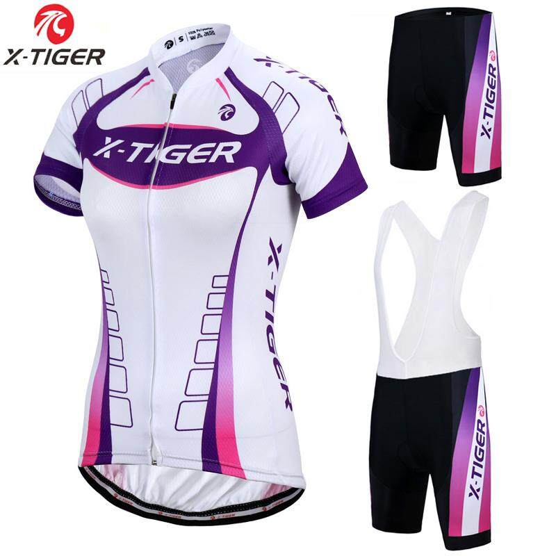 6d08b7df27e X-Tiger Kaitlyn Breathable MTB Bike Clothing Women Bicycle Clothes Ropa  Ciclismo Cycling Wear 100