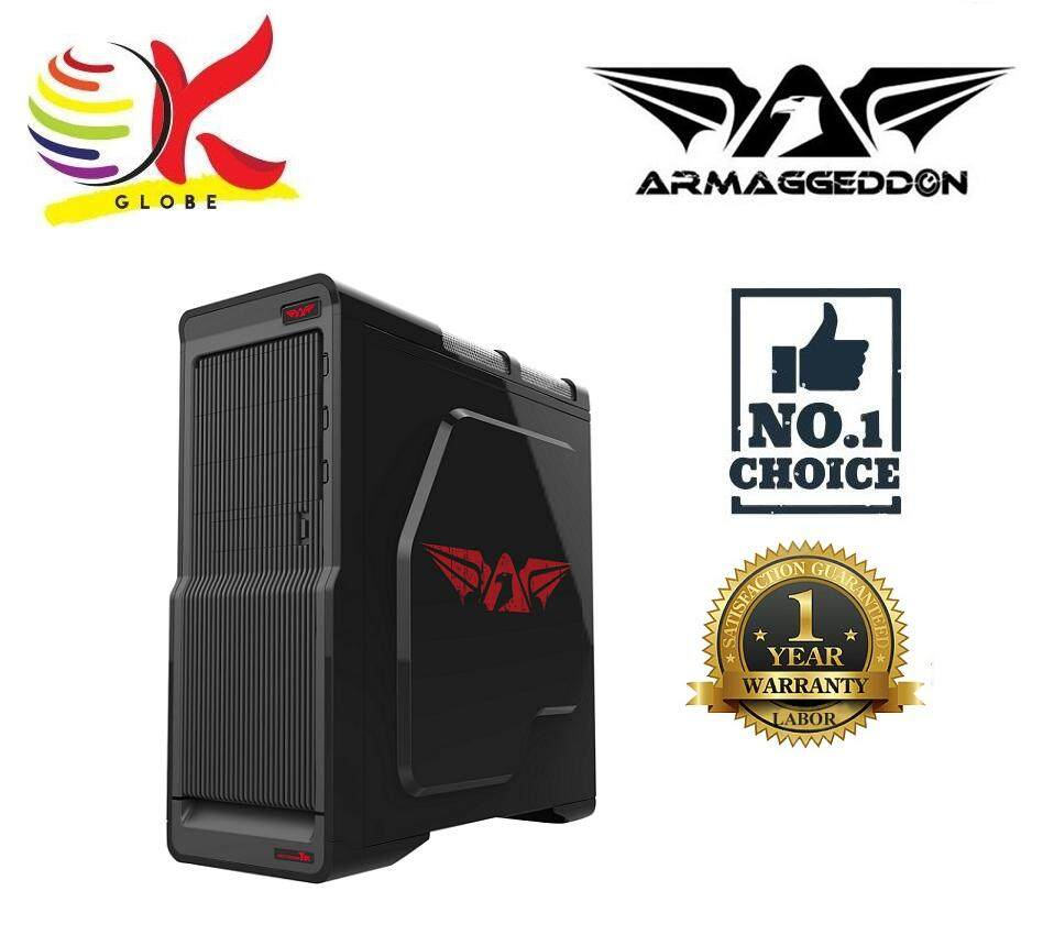 ARMAGGEDDON HECTOTRON T3X FULLY BLACK COATED CHASSIS WITHOUT PSU Malaysia