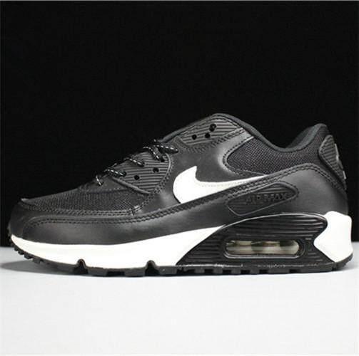 100% authentic 9f6b2 2d73f Nike Original Air Max 90 Low Top WOMEN Running Shoe ( Black White )