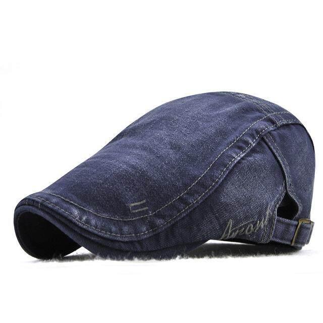 LS Unisex Topi Baret Mode Eropa dan Amerika Gaya Pria dan Wanita Di Luar Ruangan Kerai Topi Lidah Bebek