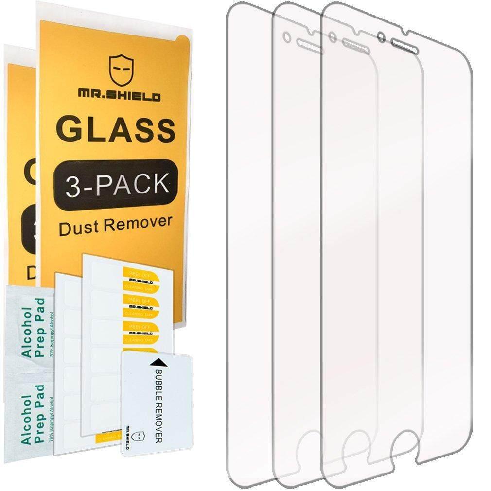 [3-Pack]-Mr Pelindung untuk iPhone 7 Plus/Iphone 8 PLUS [Kaca Antigores] Pelindung Layar [jepang Kaca dengan Kekerasan 9 H] Dengan Seumur Hidup Garansi Penggantian-Intl