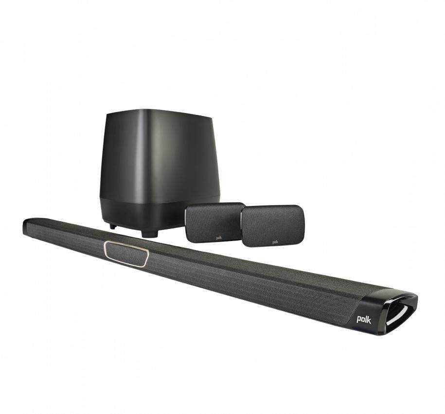 POLK AUDIO MagniFi MAX SR Maximum-Performance True 5.1 Home Theater Sound Bar and Wireless Rear Surround Sound System