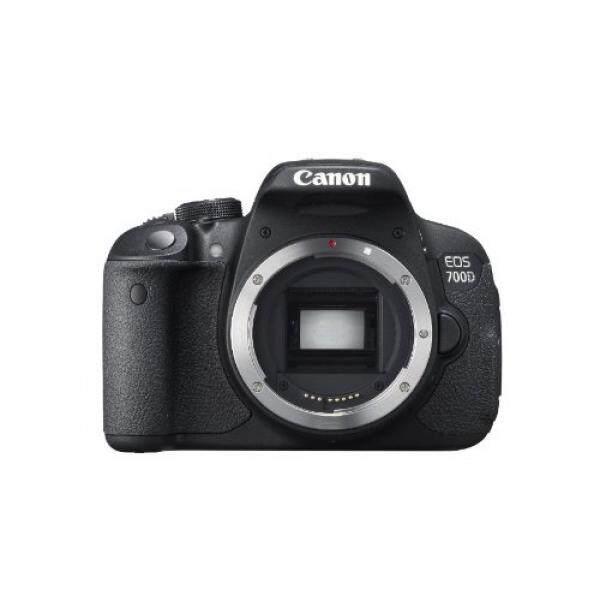 Canon EOS 700D 18MP Digital SLR Kamera (Hitam) (Body Only) -Versi Internasional (Tidak Ada Garansi)