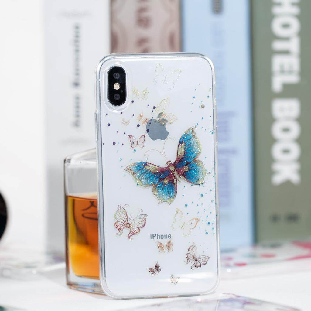 ... Beautiful Bling Ultra Thin Soft TPU Gel Silicone Protective Back Case Cover for Apple iPhone X ...