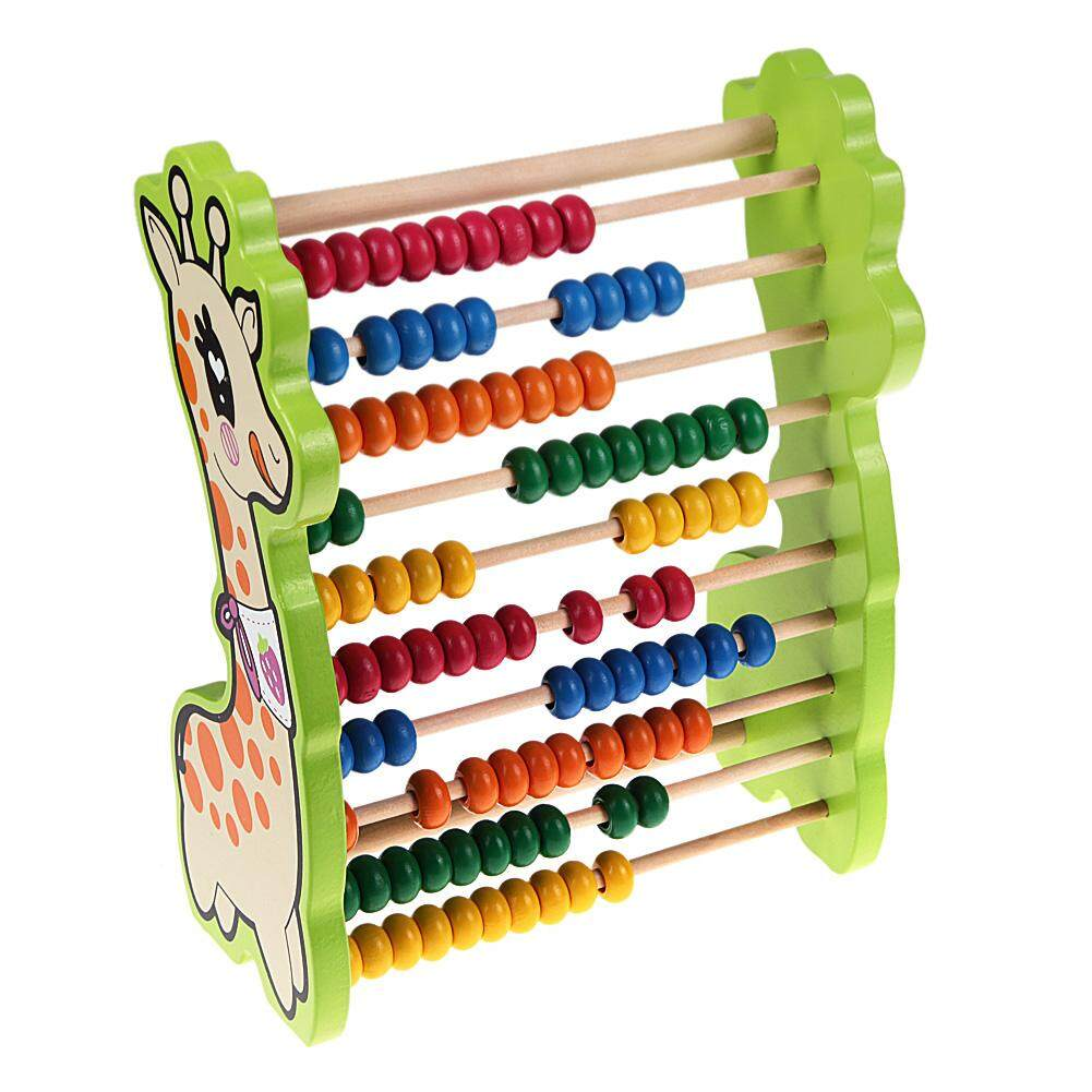 [All4kids] Wooden Deer Abacus