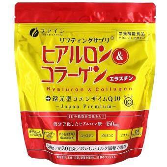 FINE Hyaluron & Collagen Premium Q10 Refill Pack 210g