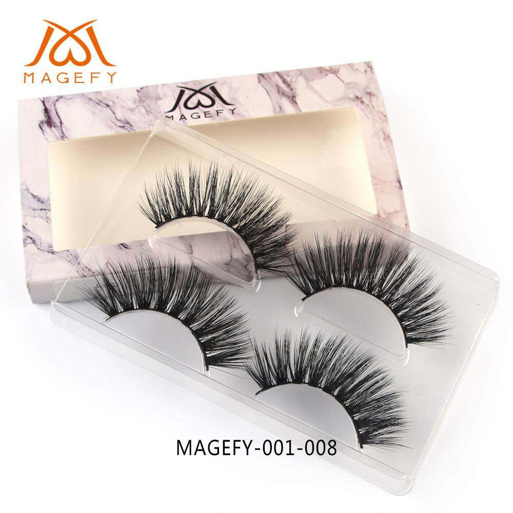 Real 3d Mink Soft Long Natural Eye Lashes Makeup Thick False Eyelash Extension By Lemononstore.