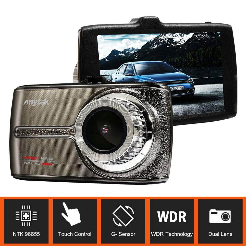ANYTEK G66 Car DVR with Novatek 96655 Chipset Dual Len Full HD 1080P Dash Camcorder