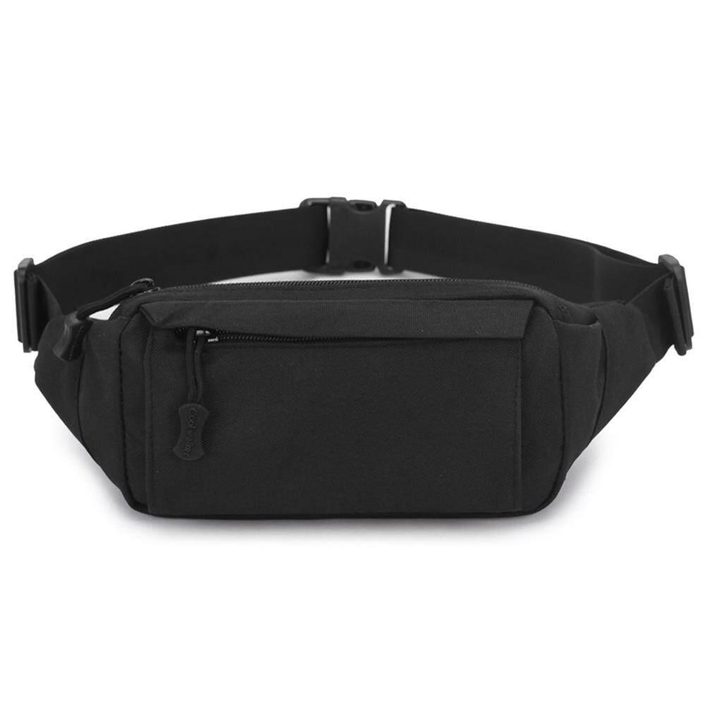2018 New Style Fashion Solid Zipper Sport Runner Waist Bag Running Belt Gym Money Key Single Waist Packs Fine Jewelry