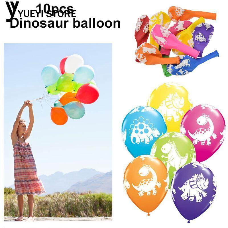 Hình ảnh YYSL Dinosaur Latex Toy Dinosaur Balloons Multicolor Decor Birthday Party