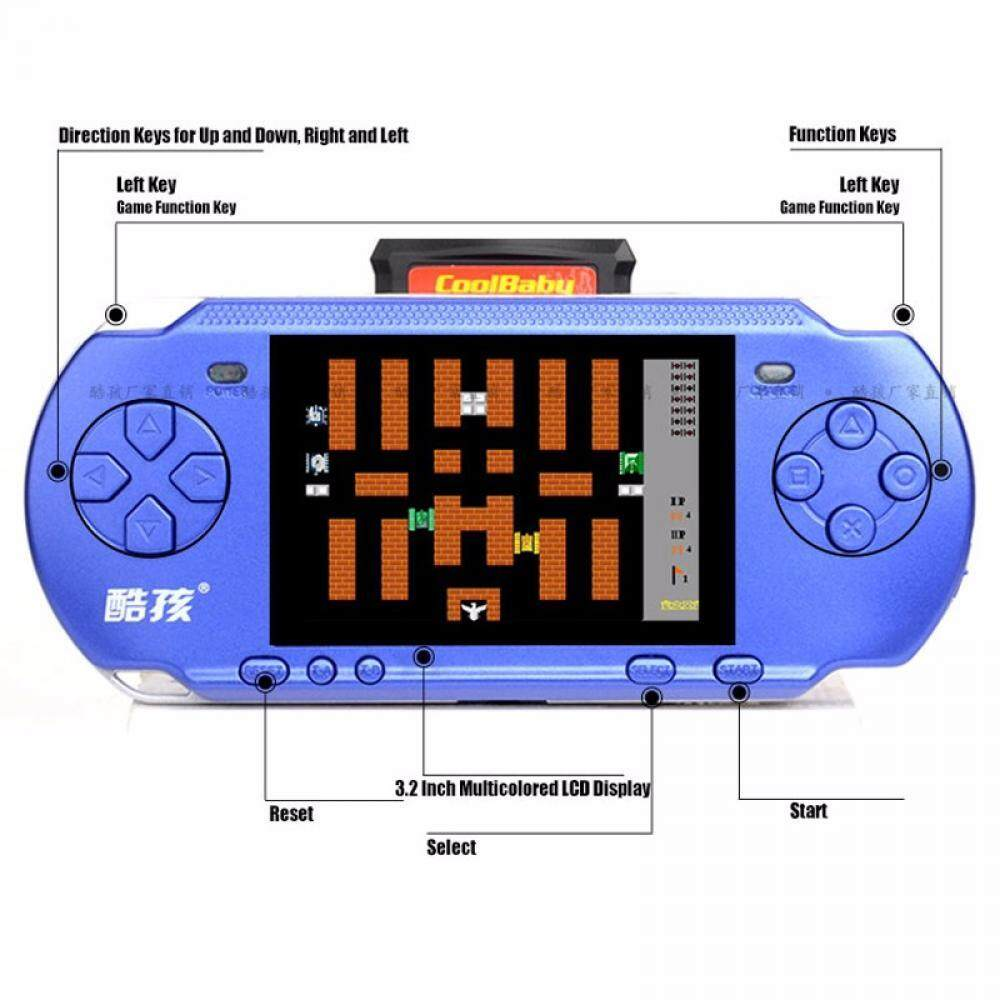 Features Handheld Game Console 3 2 Inch Game Machine Rs 15 Built 318