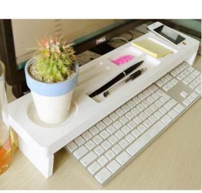 กล่องใส่ของตั้งโต๊ะ Rack Office ที่ใส่อุปกรณ์โต๊ะคอมพิวเตอร์ชั้นวางถาด Over Keyboard 袁 - Intl.