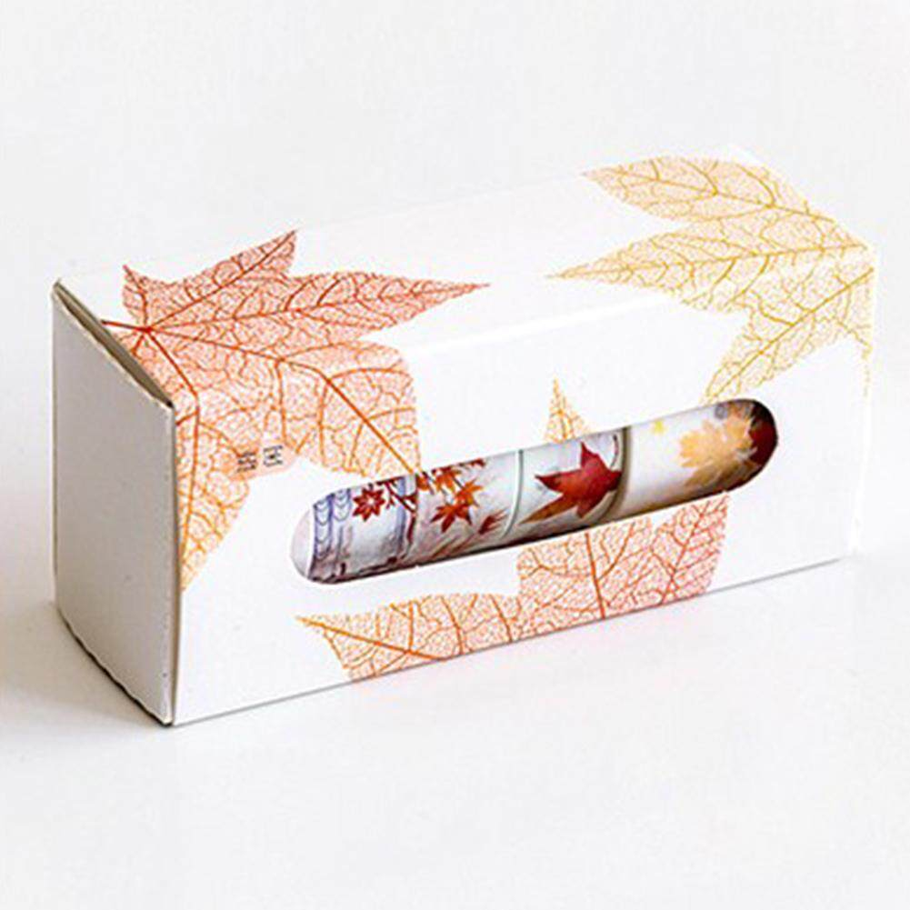 5 ชิ้นดอกไม้ที่สวยงามเทปกระดาษญี่ปุ่น Diy ตกแต่งตกแต่ง Scrapbooking เทปกาววางแผนเครื่องเขียนป้ายสติกเกอร์ By Qimiao Store.